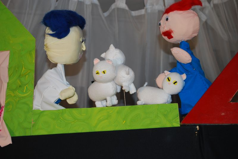 Lutkovna predstava pesjaner in muce