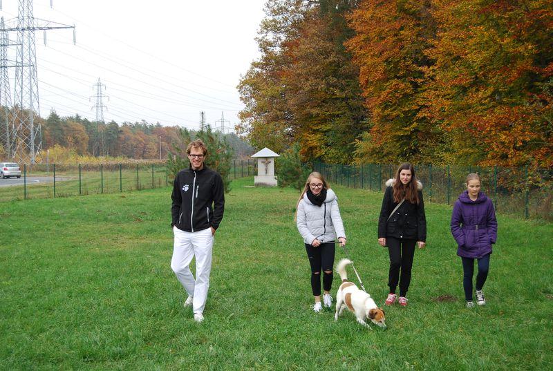 Obisk zavetišča za živali