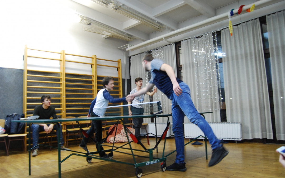 Tekmovanje v namiznem tenisu