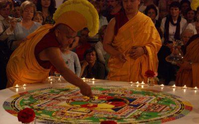 Ogled mandal tibetanskih menihov