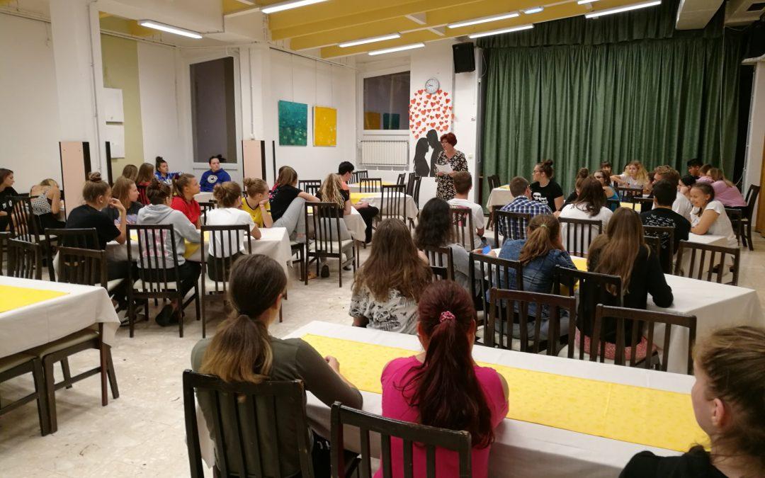 Tutorstvo v dijaškem domu – uvodni sestanek