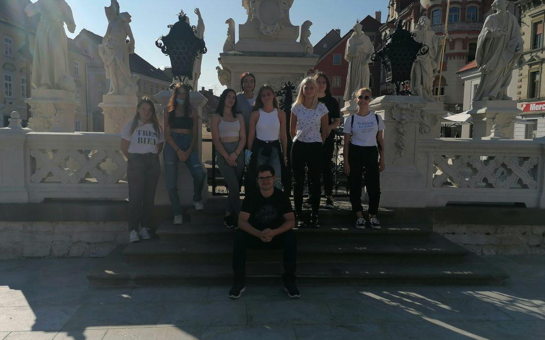 Novinci 4A in 4B na ogledu mesta Maribor