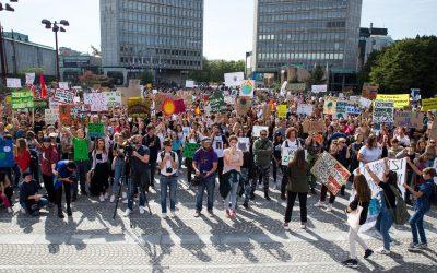 Mladi za podnebno pravičnost (MZPP) – okoljski protest 24. 9. 2021
