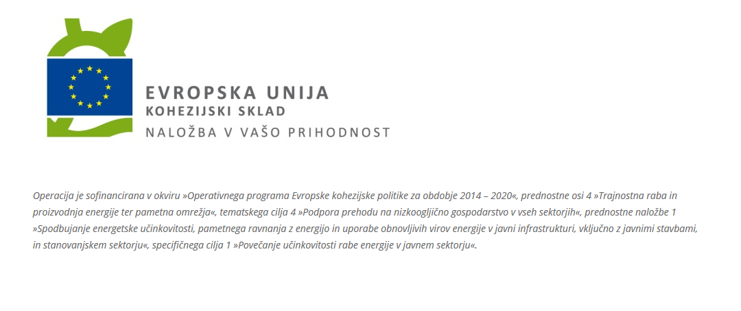 Javni razpis za podelitev koncesije za izvedbo projekta energetskega pogodbeništva na objektih Dijaškega doma Lizike Jančar Maribor – odločitev o oddaji javnega razpisa